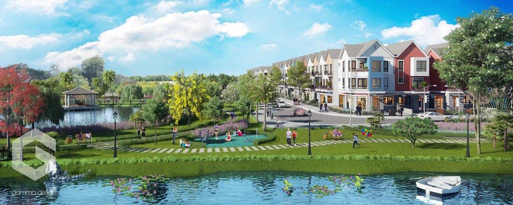 Căn nhà của Park Riverside có kiến trúc ra sao?