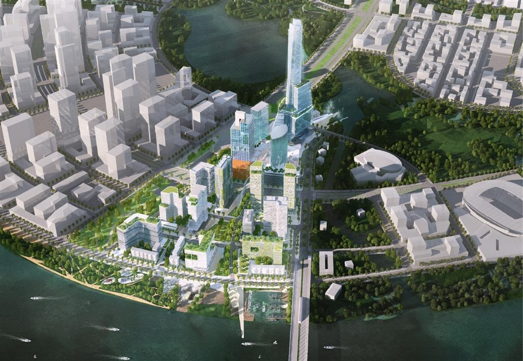 Cổ phần của Kepple Land trong Empire City