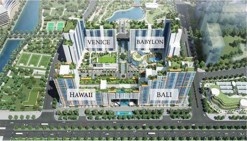 Đặc tính kết cấu căn hộ của công trình New City