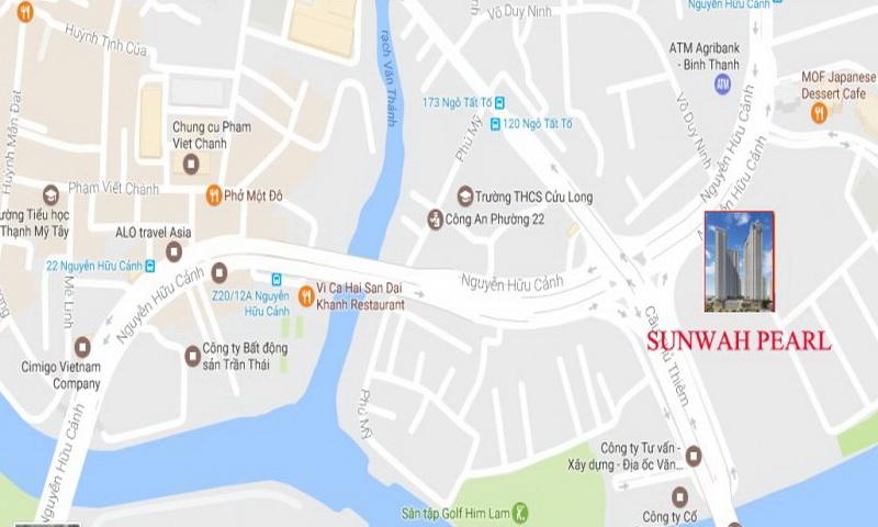 Dự án Sunwah Pearl thuận tiện giáo dục khu yên tĩnh căn hộ chiến lược