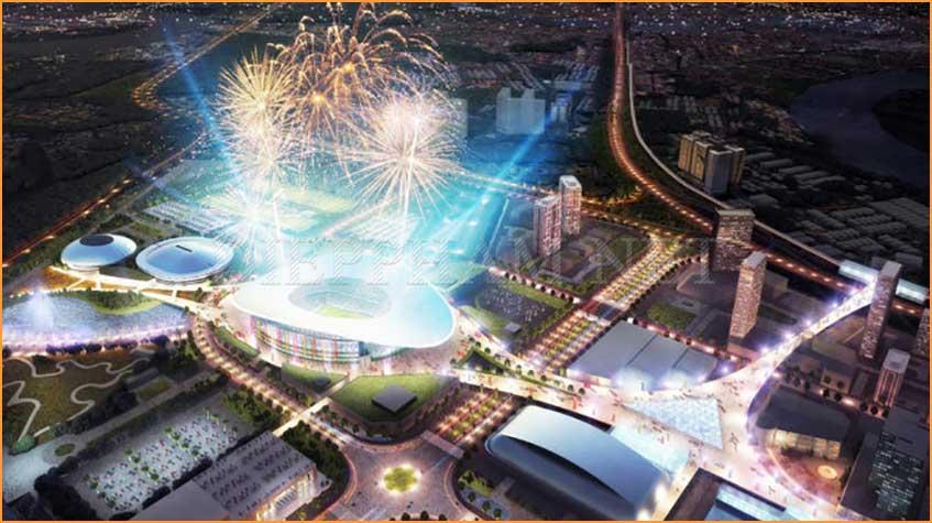 Vị trí thu hút của khu đô thị Saigon Sports City