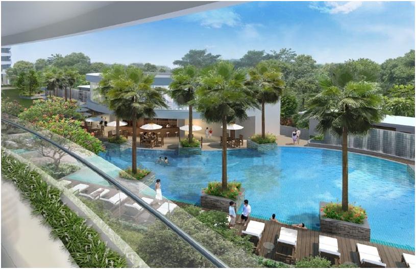 Dự án căn hộ chung cư City Garden đơn giản sinh động giá tốt nhất