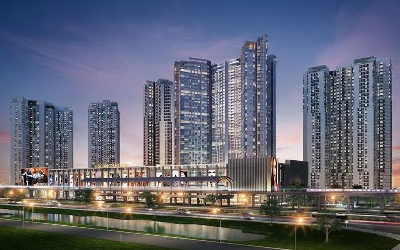 Cho thuê căn hộ chung cư Masteri Thảo Điền diện tích hợp lý ở mặt tiền