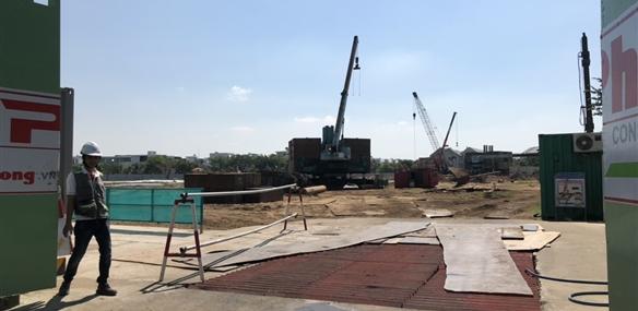 Tiến độ xây dựng căn hộ Safira Khang Điền