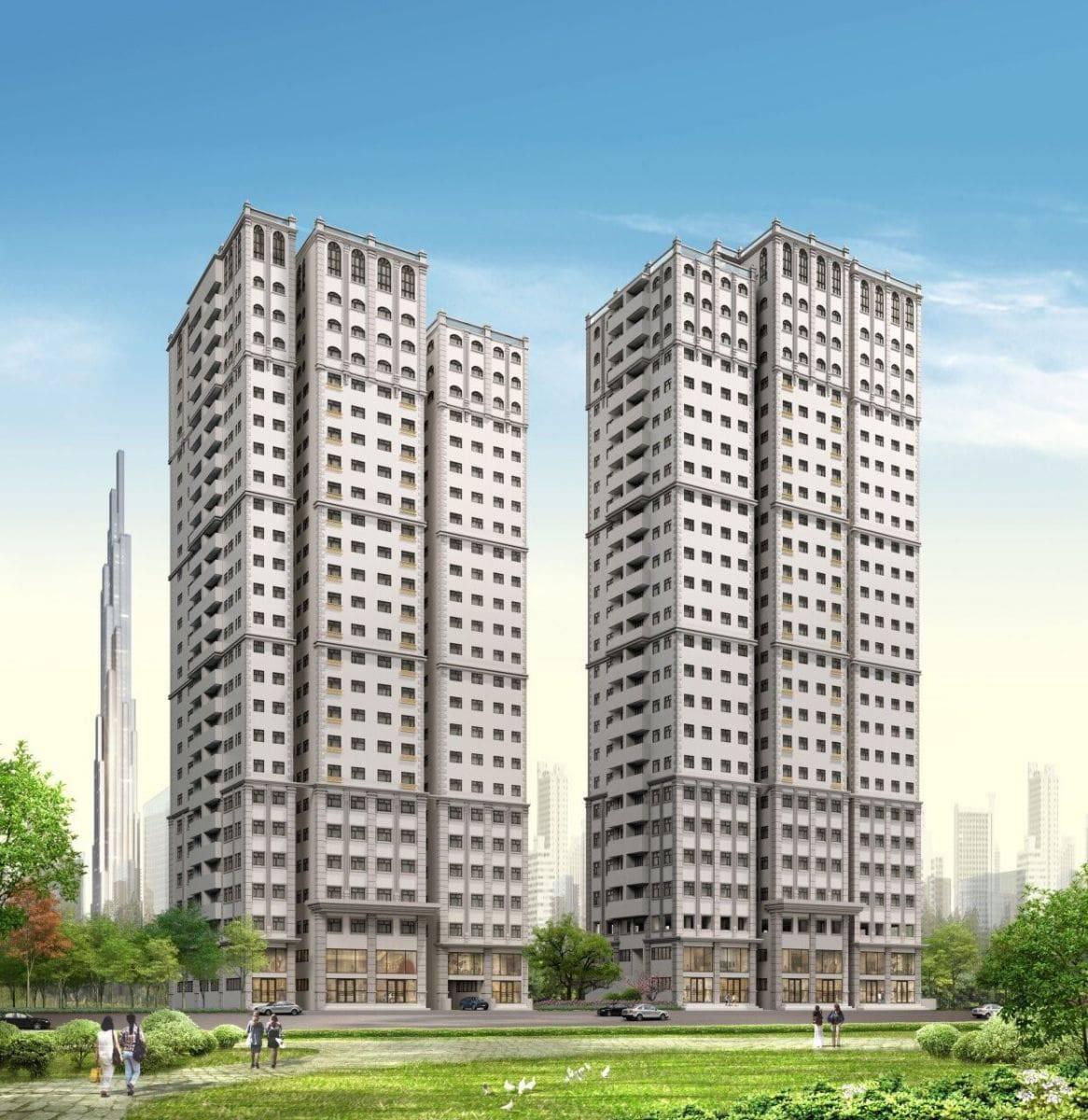 Tìm hiểu giá bán dự kiến dự án Paris Hoàng Kim