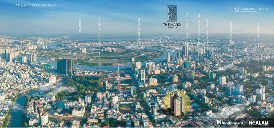 Vị trí The MARQ HongKong Land | Bán căn hộ Quận 1