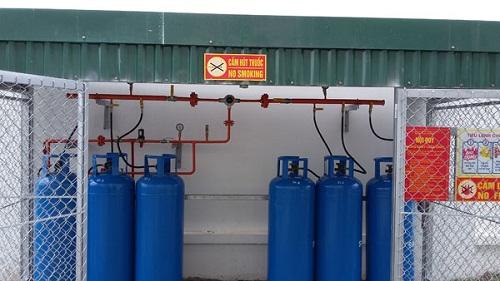 Sử dụng hệ thống gas công nghiệp cần chứ ý những gì