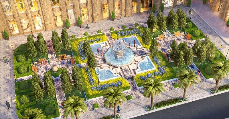 Không gian sống xanh tại Moonlight Residences thu hút nhiều khách hàng
