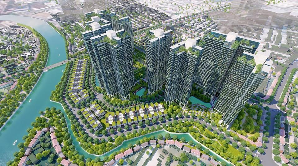 Thông tin vị trí dự án Sunshine City Saigon