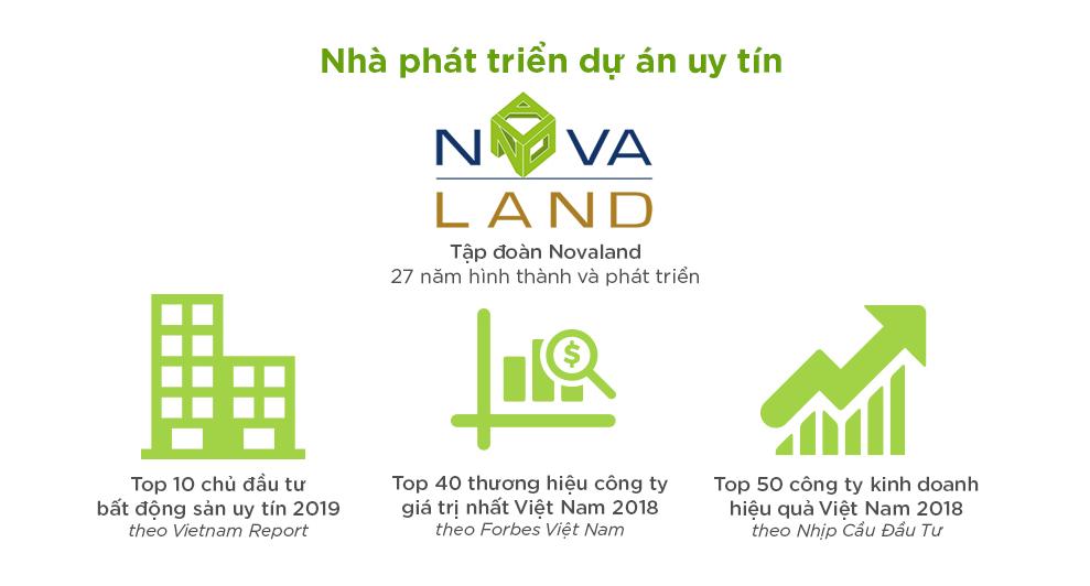 Chủ đầu tư Novaland điển hình cho dòng sản phẩm nào?
