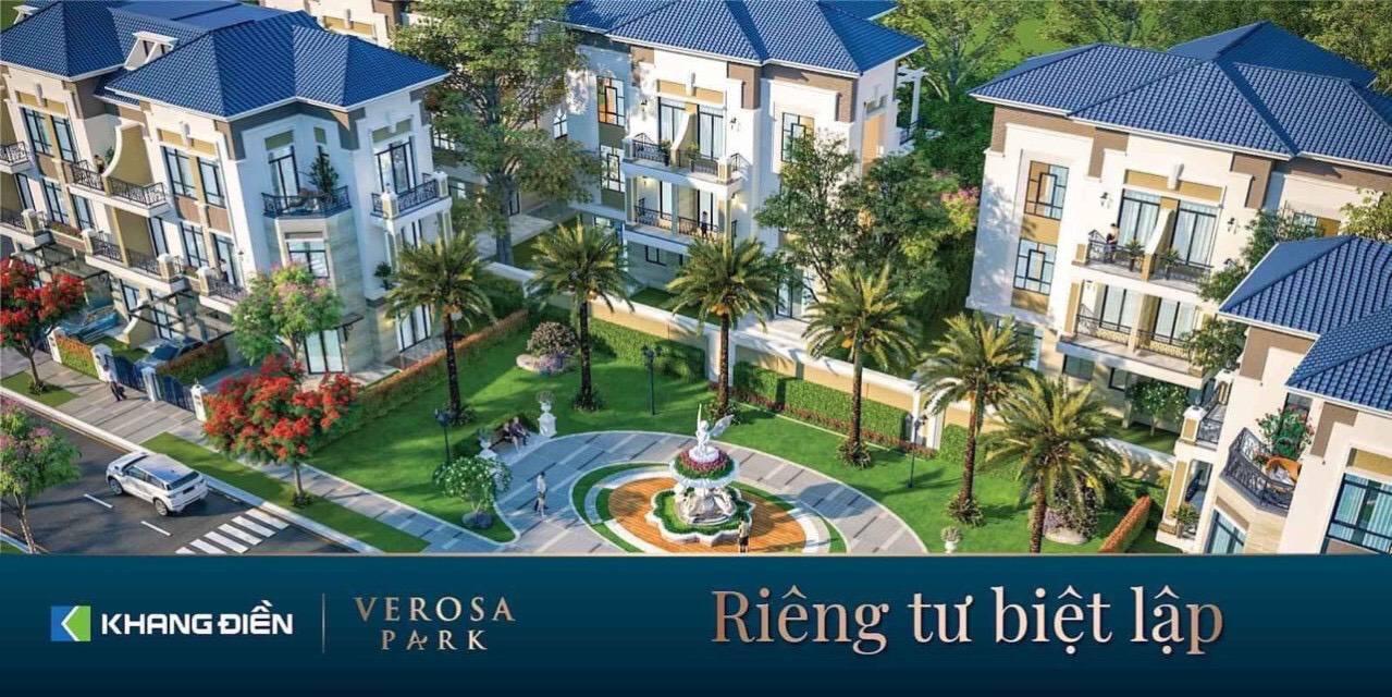 Giá bán nhà phố, biệt thự Verosa Park Khang Điền quận 9