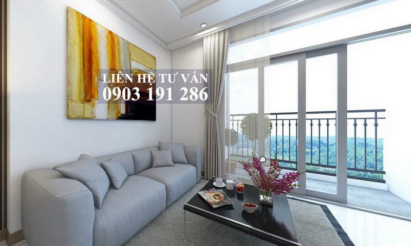 Bán gấp căn hộ Sunwah Pearl lầu 11 toà B3 đầy đủ nội thất 2 phòng ngủ view sông
