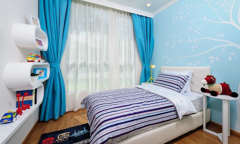 Căn hộ cho thuê Sunwah Pearl tầng 16 tháp B2 đủ nội thất 2 phòng ngủ view hồ bơi