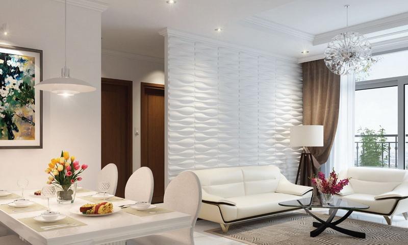 Căn hộ cho thuê Sunwah Pearl lầu 39 block B2 có nội thất 2 phòng ngủ view sông