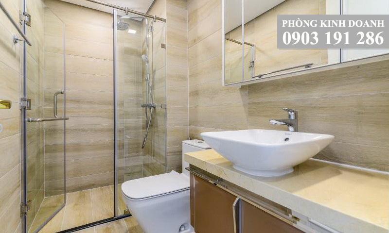 Sunwah Pearl Binh Thanh cho thue lầu 25 toà B3 nhà trống 2 phòng ngủ view sông