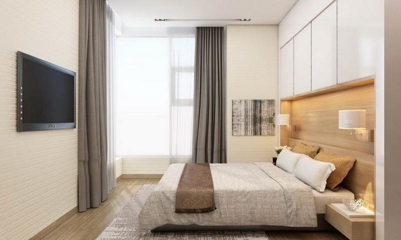 Sunwah Pearl Bình Thạnh cho thuê tầng 35 toà B3 nhà đẹp 3 phòng ngủ view sông