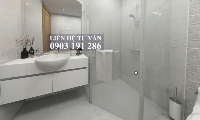 Căn hộ Sunwah Pearl Bình Thạnh cho thuê tầng 21 toà B1 nội thất full 1 phòng ngủ