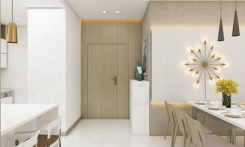 Cho thuê Sunwah Pearl lầu 32 toà B1 nội thất đầy đủ 2 phòng ngủ view quận 1