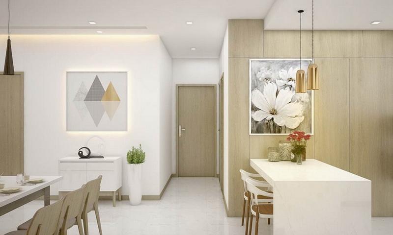 Bán căn hộ Sunwah Pearl tầng 26 block B1 nội thất xịn 2 phòng ngủ view quận 1