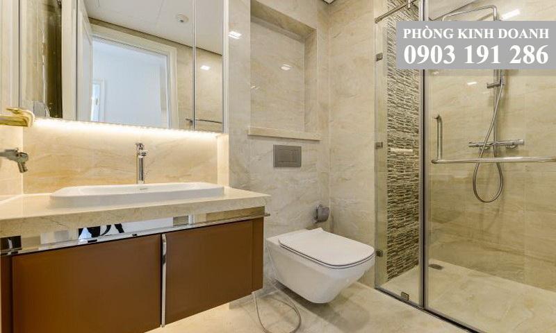Căn hộ Sunwah Pearl cho thuê lầu 9 block B2 nhà trống 1 phòng ngủ view hồ bơi