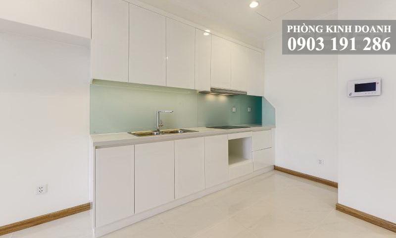 Căn hộ Sunwah Pearl cho thuê tầng 31 block B1 nhà trống 1 phòng ngủ view sông