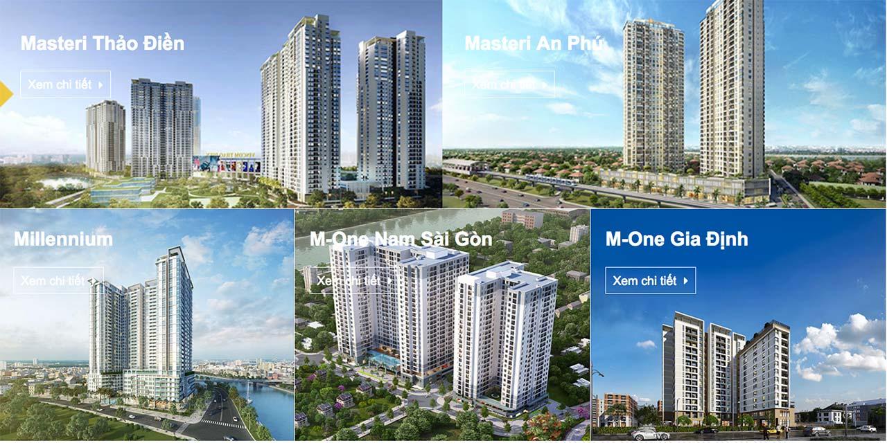Có nên đầu tư vào các dự án căn hộ Masterise không?