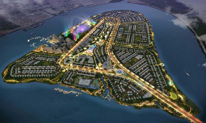 Tiện ích dự án Angel Island như thế nào?