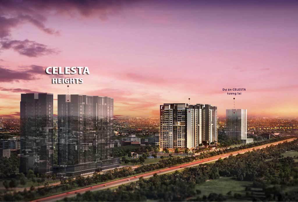 Giới thiệu chung cư Celesta Heights Nhà Bè