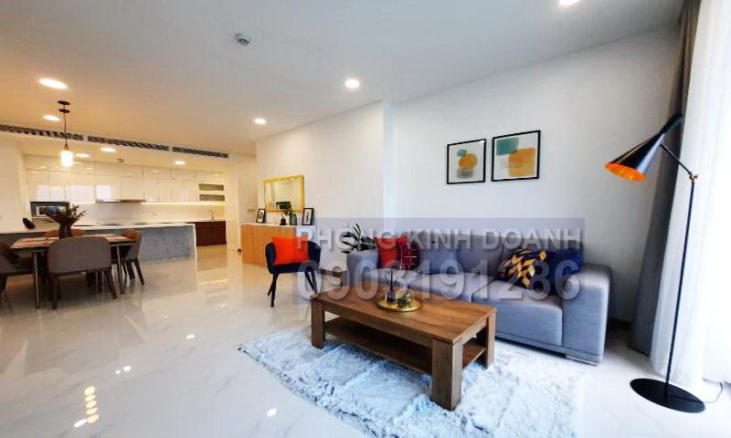 Sunwah Pearl cho thuê tầng 21 block B3 nội thất full 3 phòng ngủ view sông