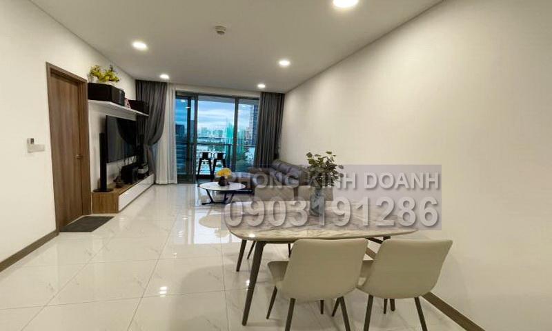 Cho thuê Sunwah Pearl tầng 9 block B1 nội thất đẹp 2 phòng ngủ view quận 1