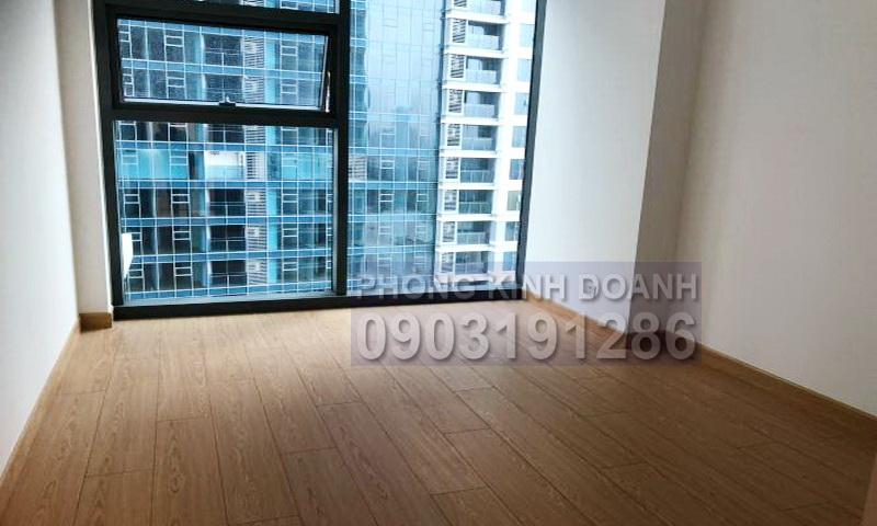 Căn hộ cho thuê Sunwah Pearl tầng 18 tháp B3 2 phòng ngủ trống view sông