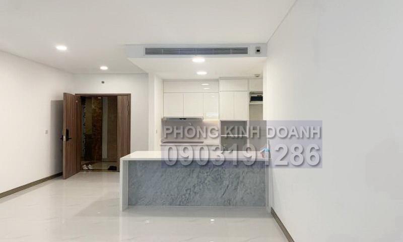 Căn hộ Sunwah Pearl cho thuê lầu 16 toà B2 nhà trống 3 phòng ngủ view sông
