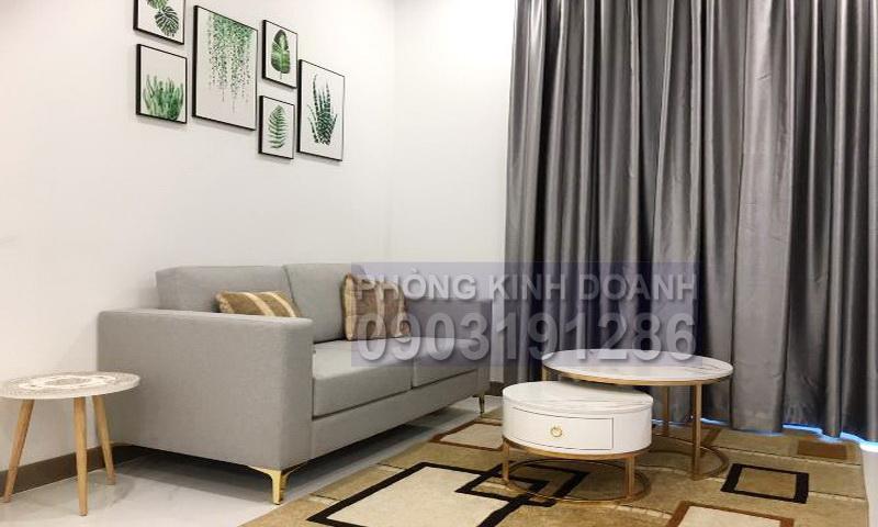 Căn hộ Sunwah Pearl cho thuê lầu 12 B1 nội thất đầy đủ 1 phòng ngủ thoáng