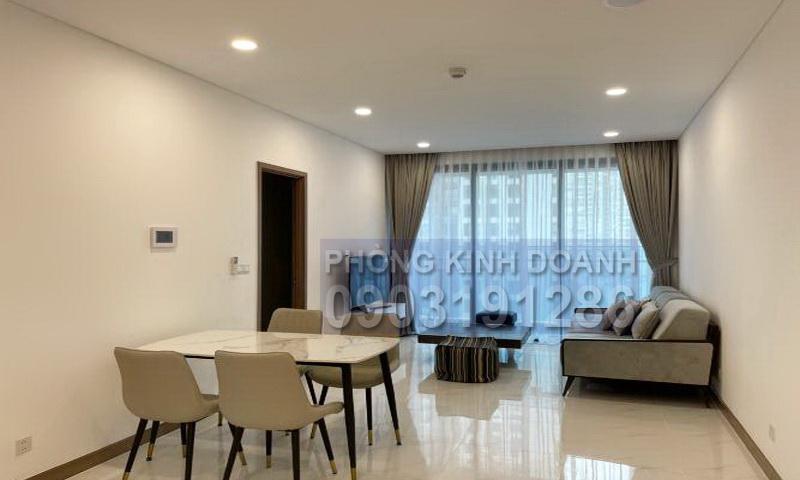 Cho thuê căn hộ Sunwah Pearl lầu 15 tháp B1 full nội thất đẹp 2 phòng ngủ
