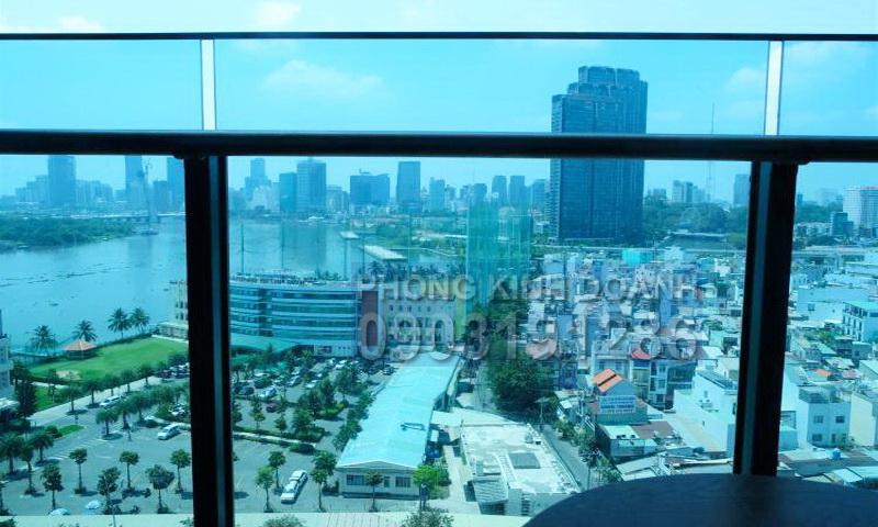Cho thuê Sunwah Pearl lầu 19 block B1 nhà đẹp 2 phòng ngủ view quận 1