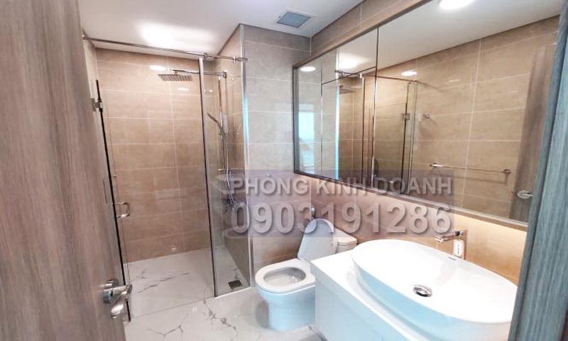 Sunwah Pearl cho thuê tầng 7 toà B2 nội thất cơ bản 3 phòng ngủ view sông