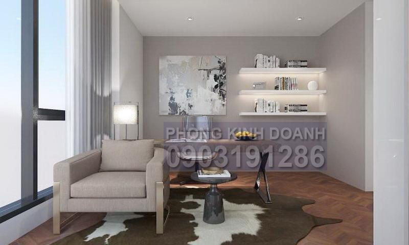 Căn hộ Sunwah Pearl cho thuê tầng 28 nội thất đẹp 3 phòng ngủ view quận 1