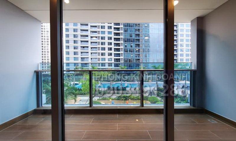 Căn hộ Sunwah Pearl cho thuê tầng 7 B2 nhà trống 3 phòng ngủ view hồ bơi