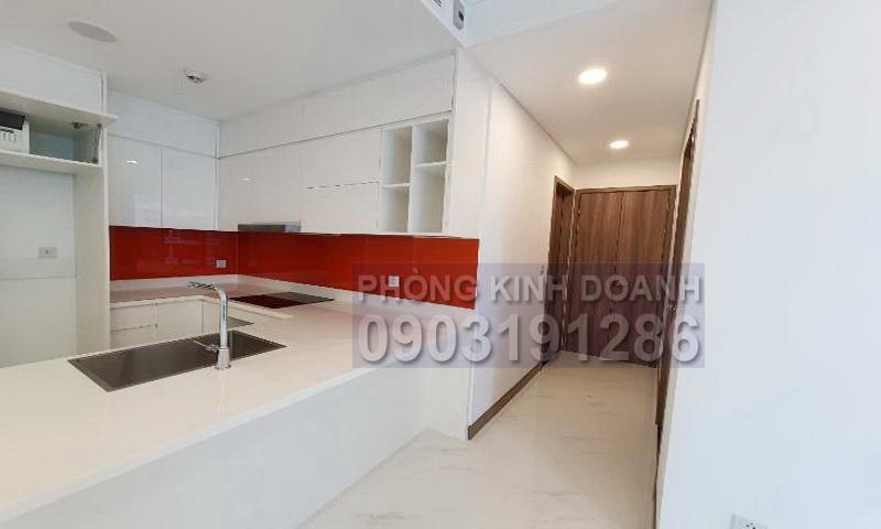 Sunwah Pearl cho thuê tầng 37 block B2 nội thất đầy đủ 1 phòng ngủ view sông