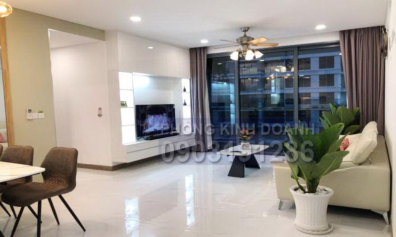 Căn hộ Sunwah Pearl cho thuê tầng 27 block B2 nội thất đẹp 3 phòng ngủ