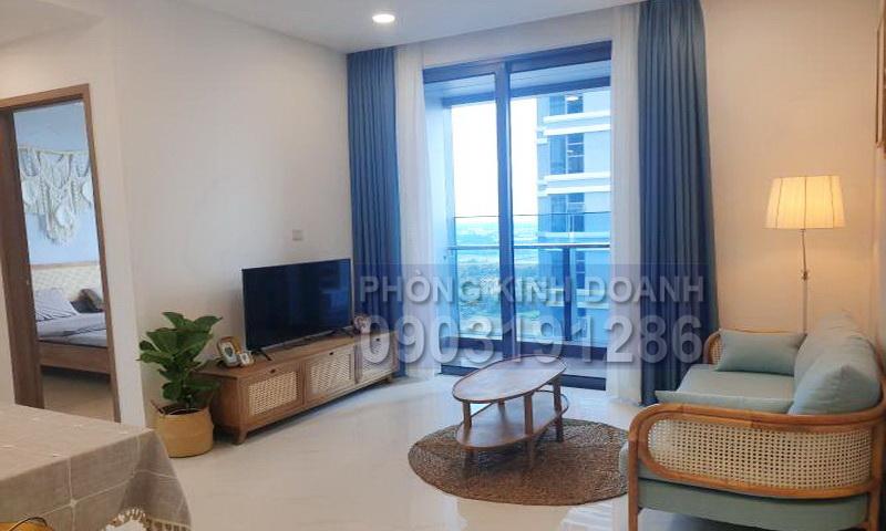 Sunwah Pearl cho thuê lầu 29 tháp B1 nội thất đầy đủ 1 phòng ngủ view sông