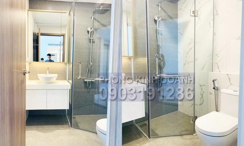 Căn hộ Sunwah Pearl cho thuê tầng 20 tháp B1 nhà trống 1 phòng ngủ thoáng