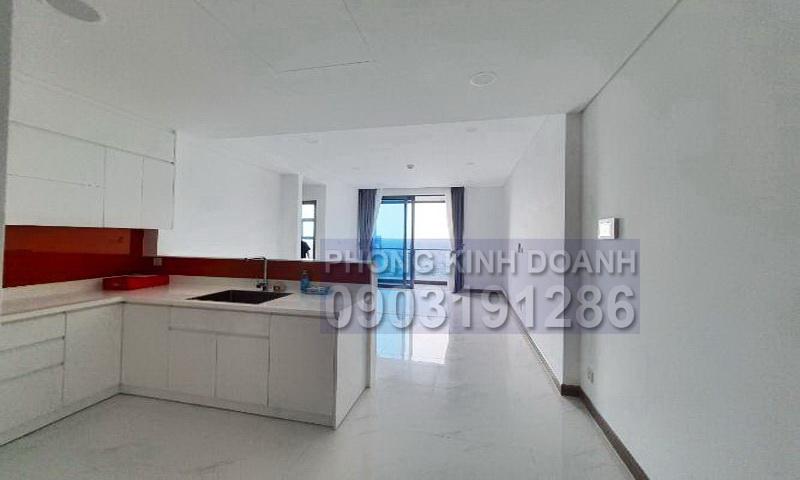 Căn hộ Sunwah Pearl cho thuê tầng 30 nội thất cơ bản 1 phòng ngủ view đẹp